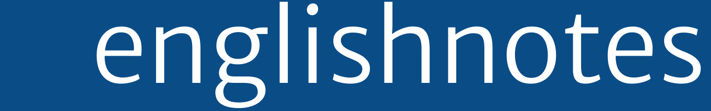 English Notes Logo